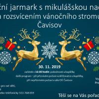 Vánoční jarmark s mikulášskou nadílkou Čavisov